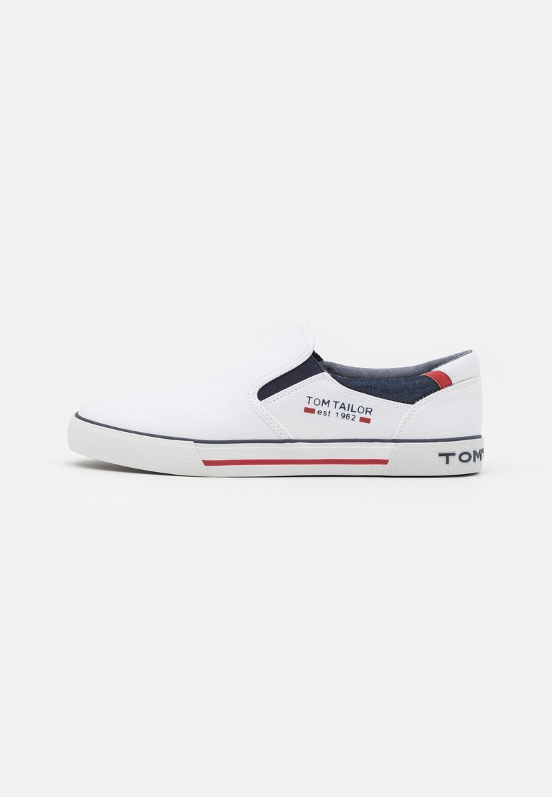 TOM TAILOR - Sneakers - white