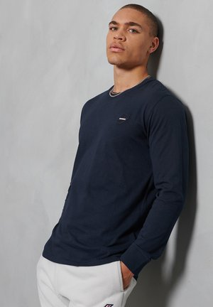Long sleeved top - deep navy