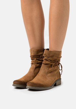 Lace-up ankle boots - reh