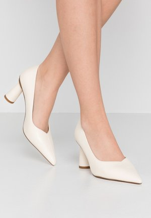 CONE SHAPE POINTY  - Klassiske pumps - offwhite