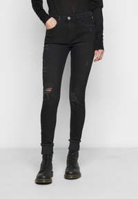 River Island Tall - Jeans Skinny - washed black - 0