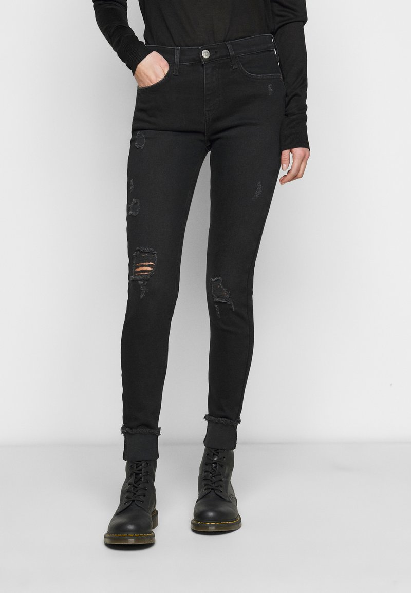 River Island Tall - Jeans Skinny - washed black