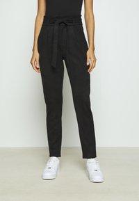 Vero Moda - VMEVA PANT - Trousers - black - 0