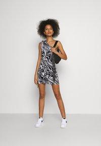Juicy Couture - ELLEN PRINTED DRESS - Day dress - black - 4