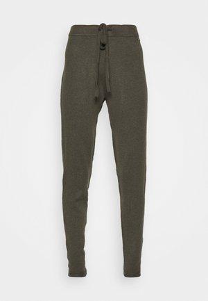 TANYA  - Tracksuit bottoms - asphalt grey