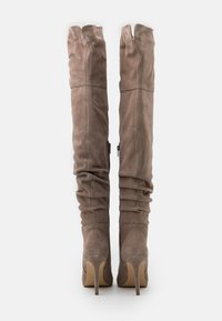 Even&Odd - LEATHER - High heeled boots - beige - 3