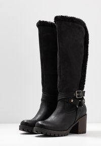 H.I.S - Vysoká obuv - black - 4