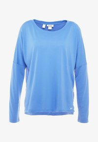 Reebok - WORKOUT READY TRAINING LONG SLEEVE T-SHIRT - Top s dlouhým rukávem - blubla - 4