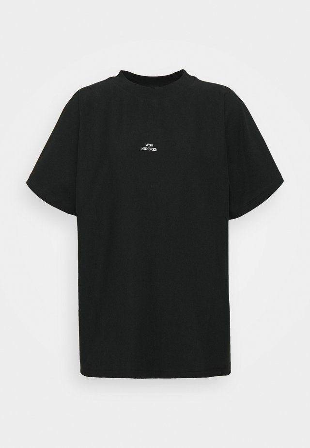 BROOKLYN - T-shirts basic - black