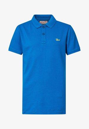 Polo shirt - azure blue