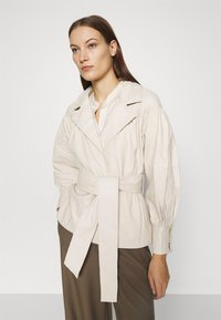 DAY Birger et Mikkelsen - DAY GROW - Leather jacket - ivory - 3