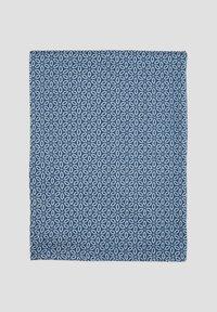 s.Oliver - MIT PRINTMUSTER - Snood - dark blue aop - 2