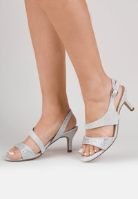 Paradox London Wide Fit - LUMLEY - WIDE FIT - Sandals - silver - 0