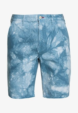 MENS STANDARD FIT - Shorts di jeans - light blue denim