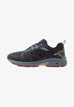 GEL-VENTURE 7 - Laufschuh Trail - graphite grey/dried berry