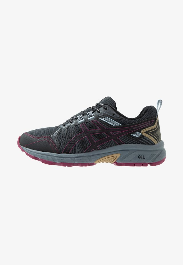GEL-VENTURE 7 - Scarpe da trail running - graphite grey/dried berry