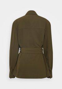 Samsøe Samsøe - CITRINE - Summer jacket - dark olive - 1