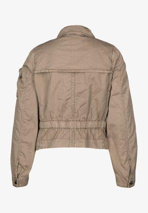 SLIM - Light jacket - beige