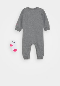 Nike Sportswear - COVERALL - Jumpsuit - carbon heather - 1