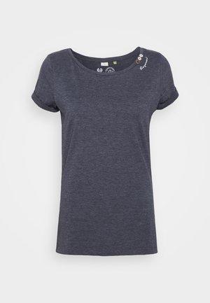 FLORAH  - Print T-shirt - navy