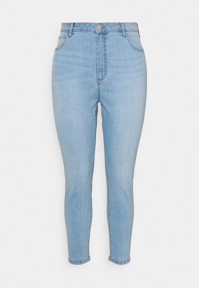 ADRIANA HIGH - Jeans Skinny Fit - ocean blue