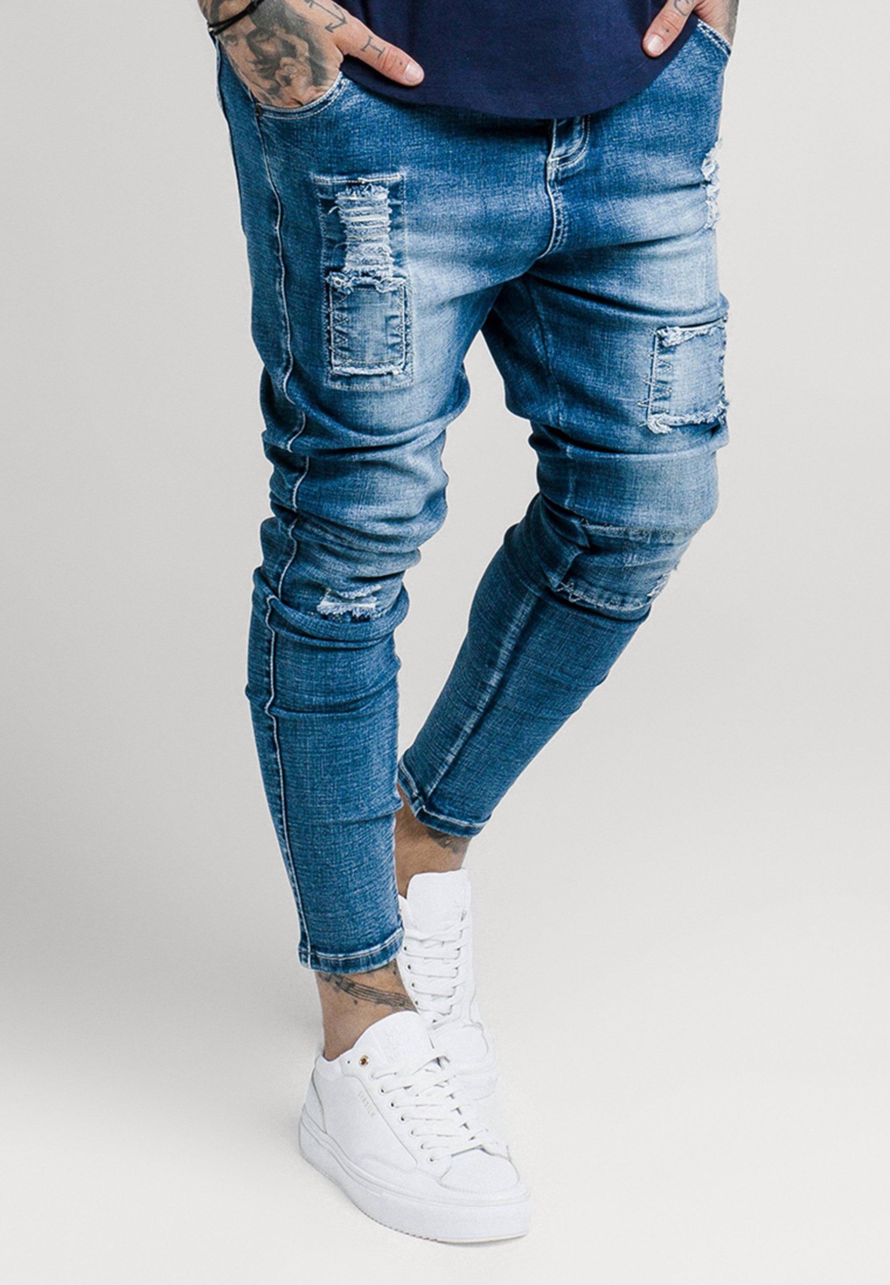 Herren SKINNY FIT PATCH - Jeans Skinny Fit