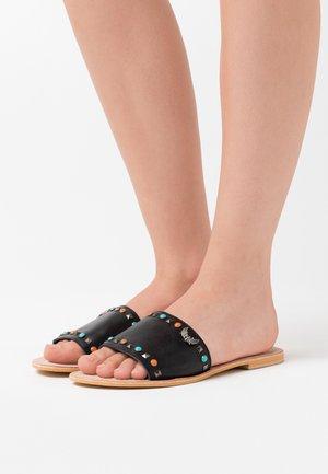 MALINI - Pantofle - noir