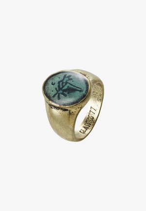 WASH OUT SIGNET - Anillo - gold-coloured
