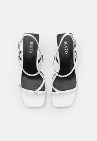 RAID - SAWYER - T-bar sandals - white - 5