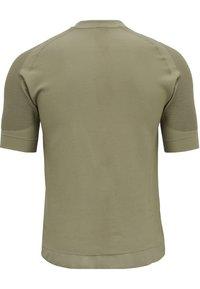 Hummel - HMLCUBE - Print T-shirt - vetiver - 2