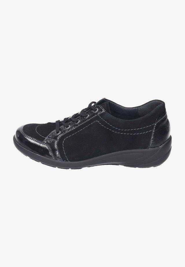 BIRGIT  - Casual lace-ups - schwarz