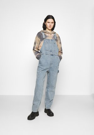 CIARA DUNGAREES - Dungarees - blue medium dusty