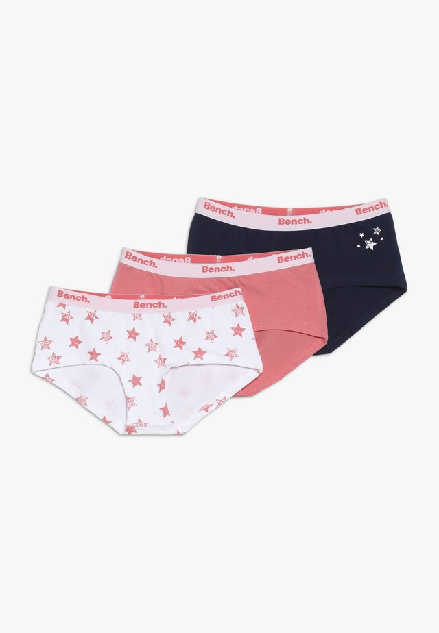 BENCH PANTY STERNE - Culotte - coral/dark blue/white