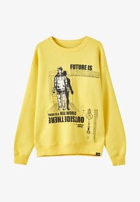 PULL&BEAR - Sweatshirt - yellow - 4