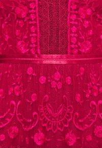 Needle & Thread - LOTTIE MIDI DRESS - Cocktail dress / Party dress - deep red - 2