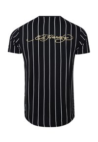 Ed Hardy - ROAR-TOUR T-SHIRT - Print T-shirt - black - 4