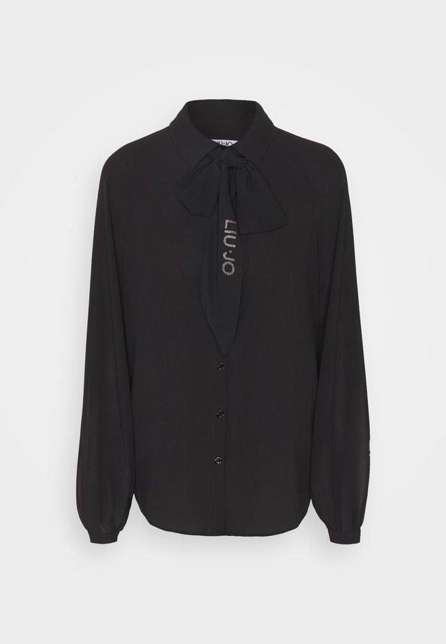 CAMICIA OROIM - Button-down blouse - nero