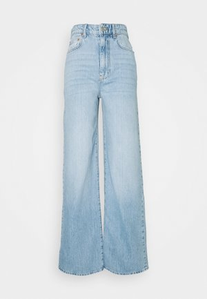 IDUN WIDE - Relaxed fit jeans - ocean blue