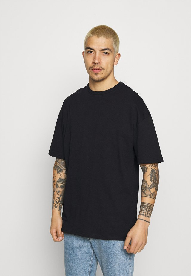 SHANGRI LA BUTTERFLIES UNISEX - Print T-shirt - black