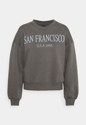 RILEY  - Sweatshirt - granite/san