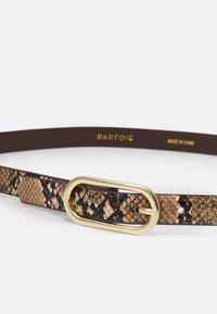 PARFOIS - NARROW BELT - Belte - brown - 1