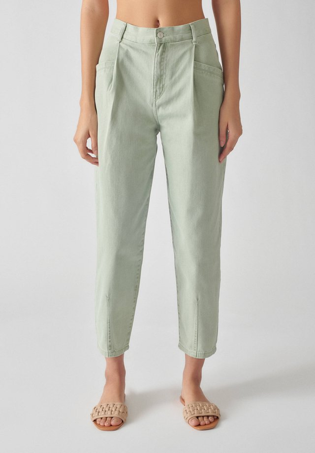 Pantalon classique - light green