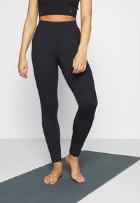 Curare Yogawear - LONG PANTS POCKETS - Legging - midnight blue - 0
