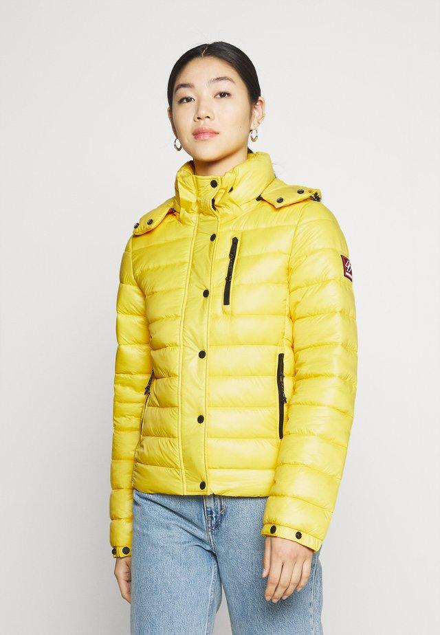 SHINE FUJI  - Zimní bunda - nautical yellow