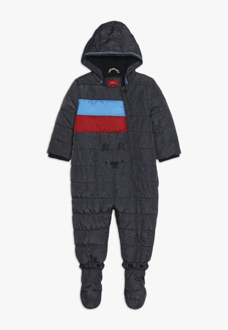 s.Oliver - Snowsuit - dark blue melange