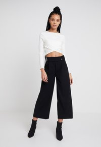 JDY - JRS NOOS - Trousers - black - 1