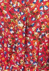 Pinko - NOMADE ABITO CLOQUE FIORELLINO - Day dress - red - 6