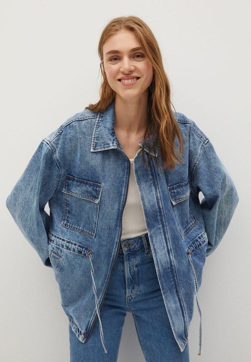 Mango - COLETTE - Denim jacket - medium blue