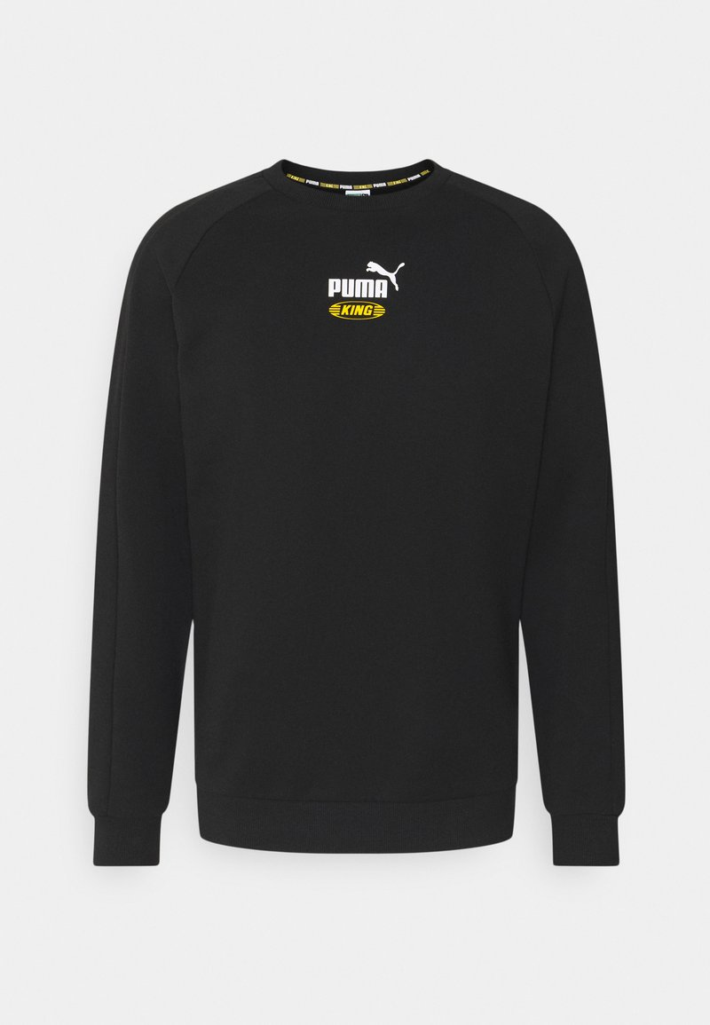Puma - ICONIC KING CREW - Sweatshirt - black