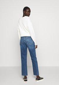 Topshop Tall - CLEAN - Straight leg jeans - blue denim - 2
